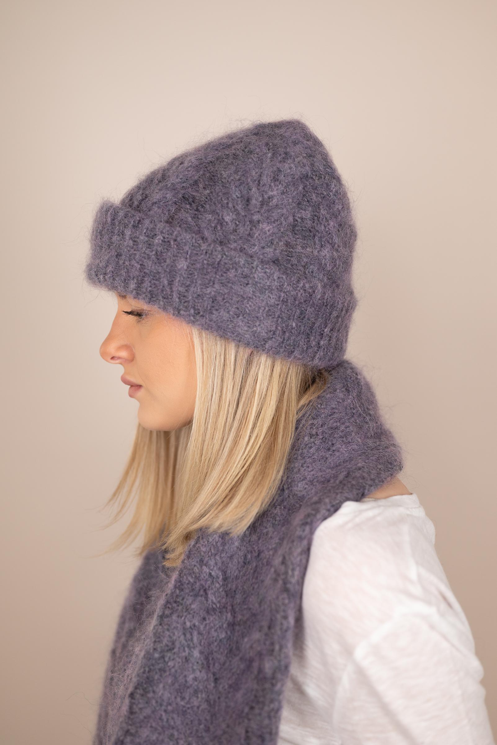 AMERICAN VINTAGE Mütze violett